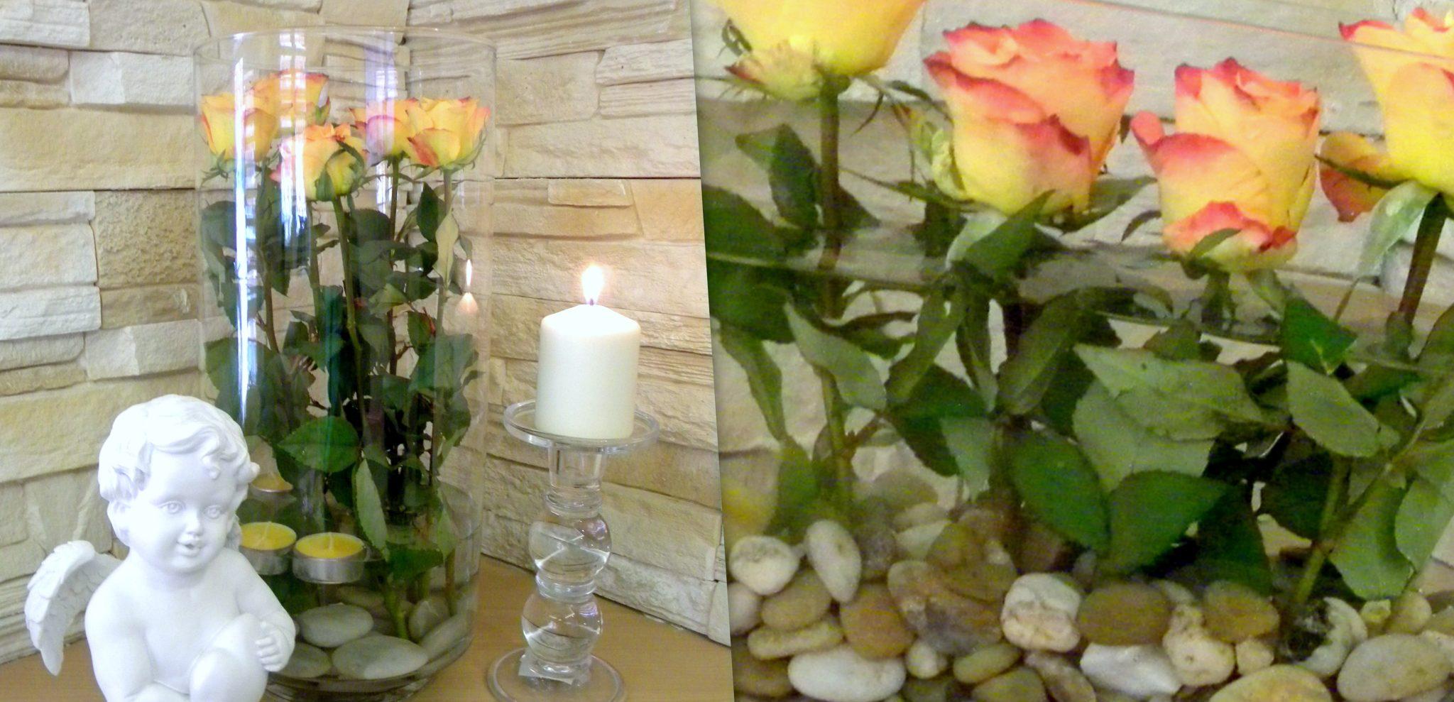 Kompozycje kwiatowe w wazonach!