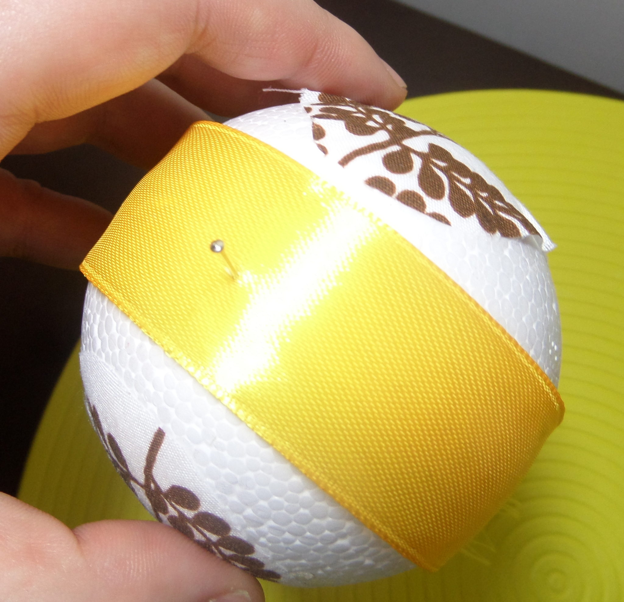 102 - Jajka styropianowe na Wielkanoc