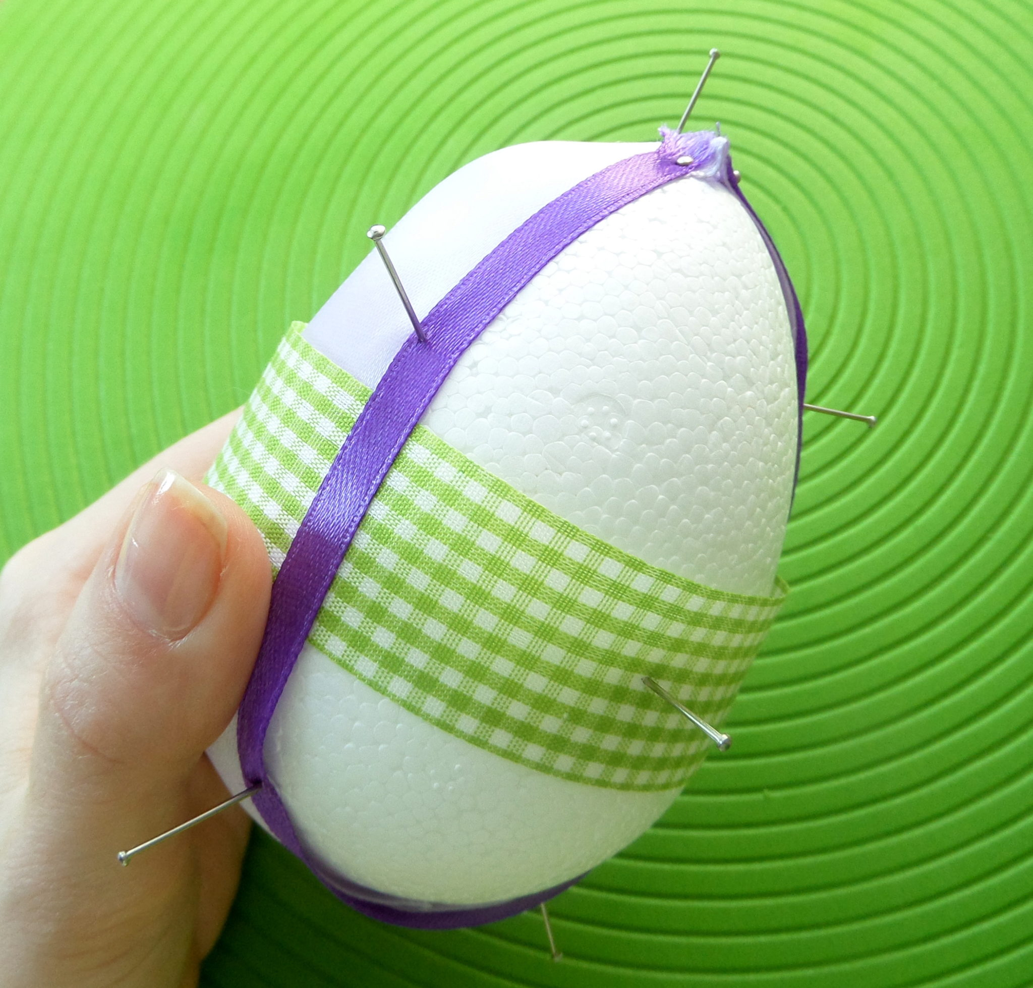 171 - Jajka styropianowe na Wielkanoc