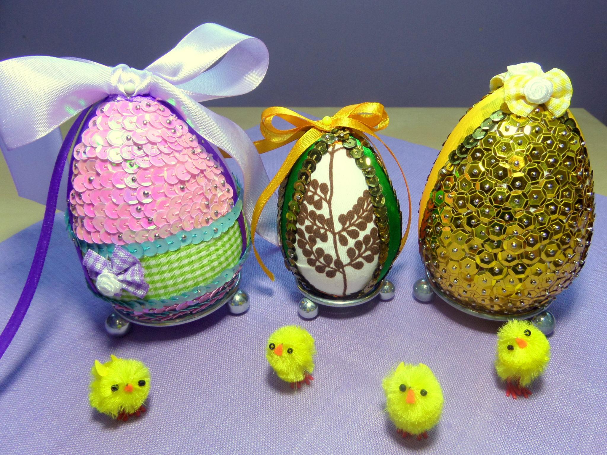 24 - Jajka styropianowe na Wielkanoc