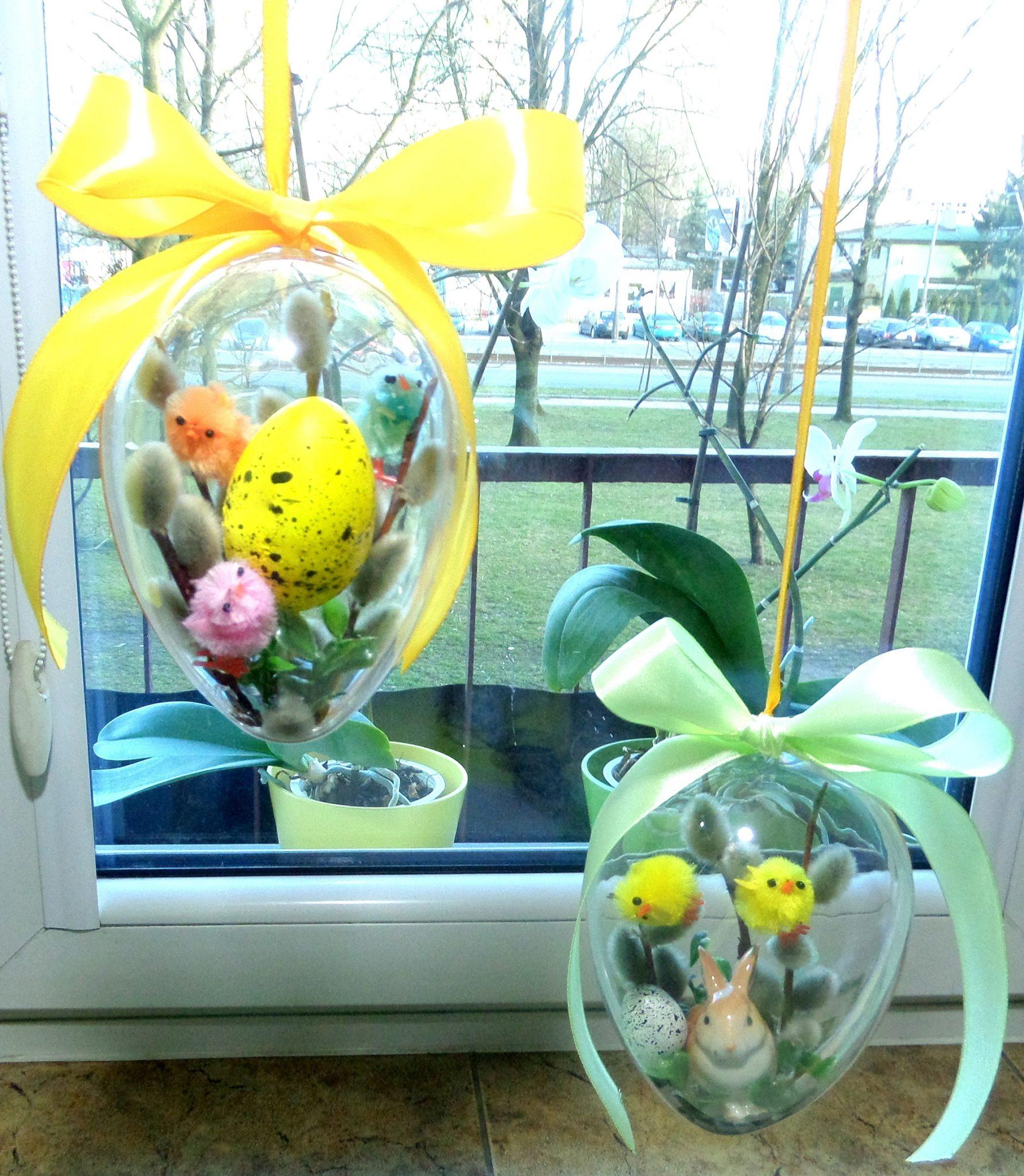 Proste dekoracje Wielkanocne