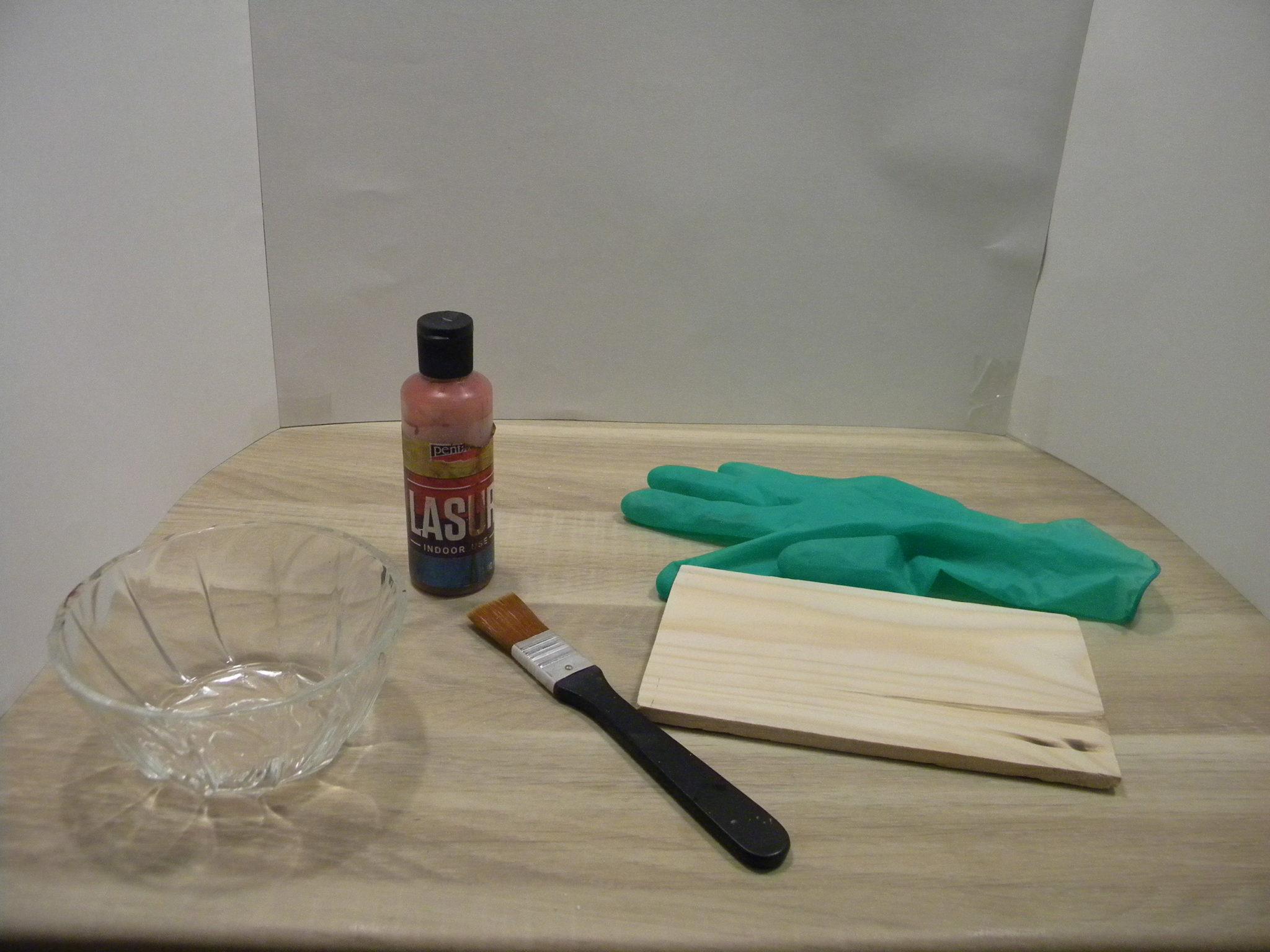 Zaimpregnuj drewnianą deskę