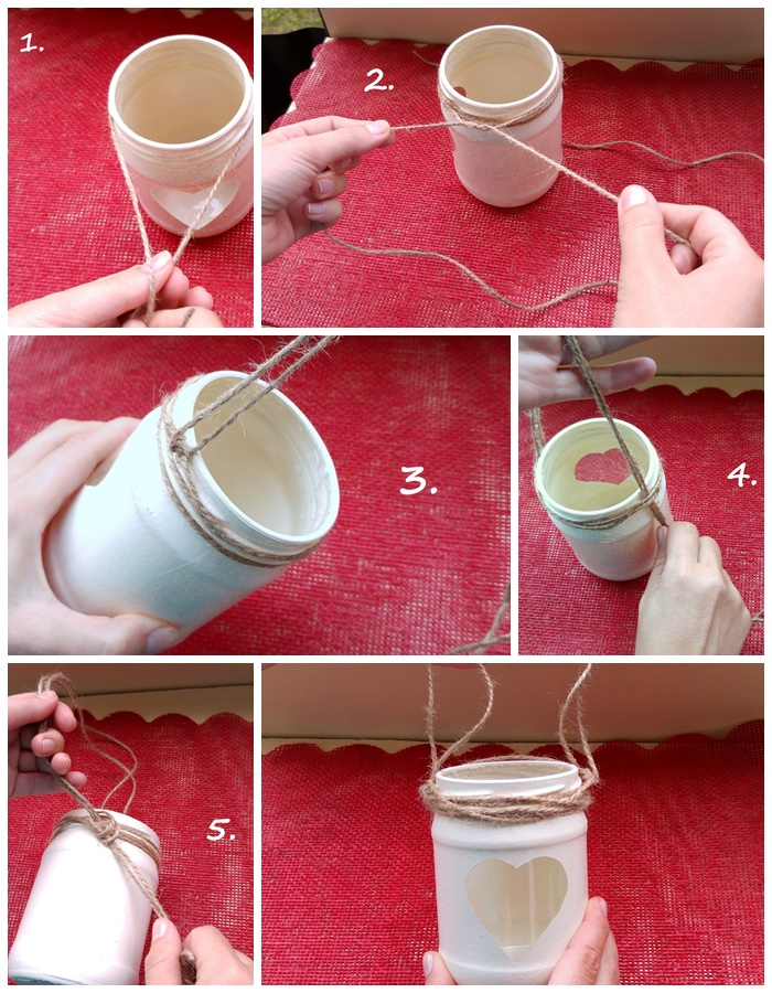 Lampion DIY