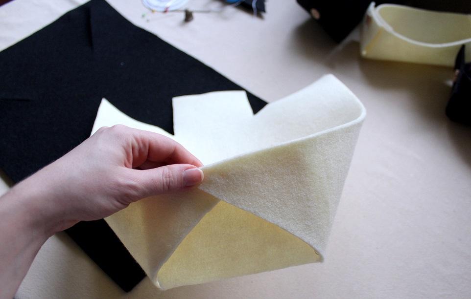 11 - Pudełko z filcu DIY