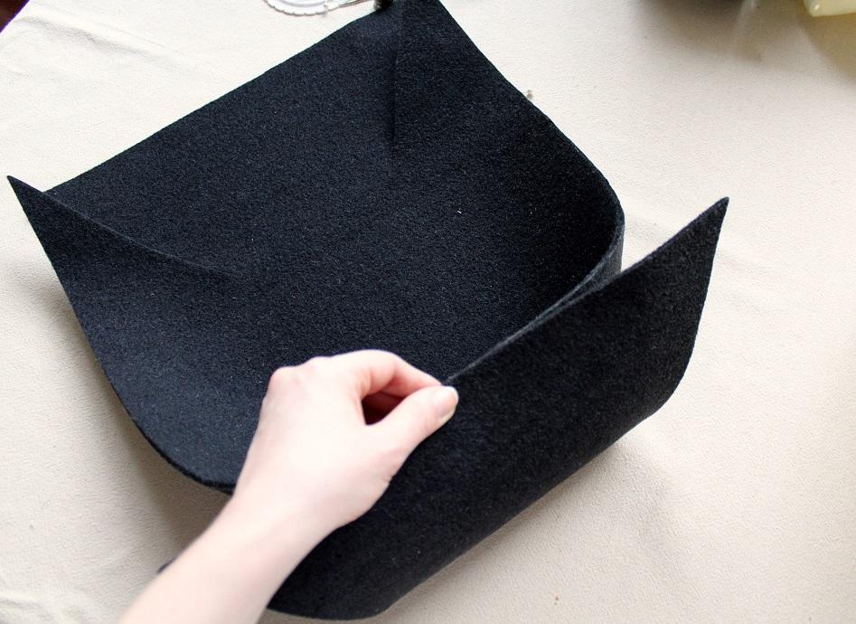 12 - Pudełko z filcu DIY