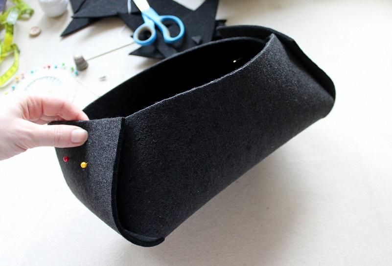 14 - Pudełko z filcu DIY