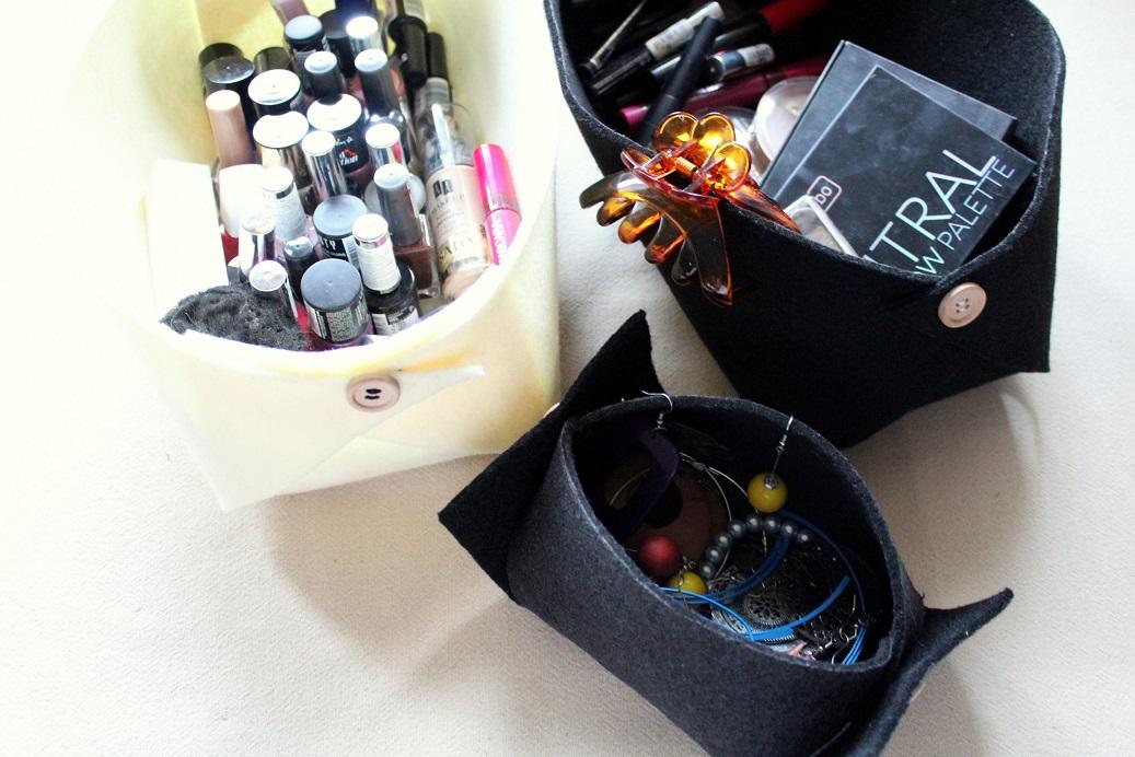23 - Pudełko z filcu DIY
