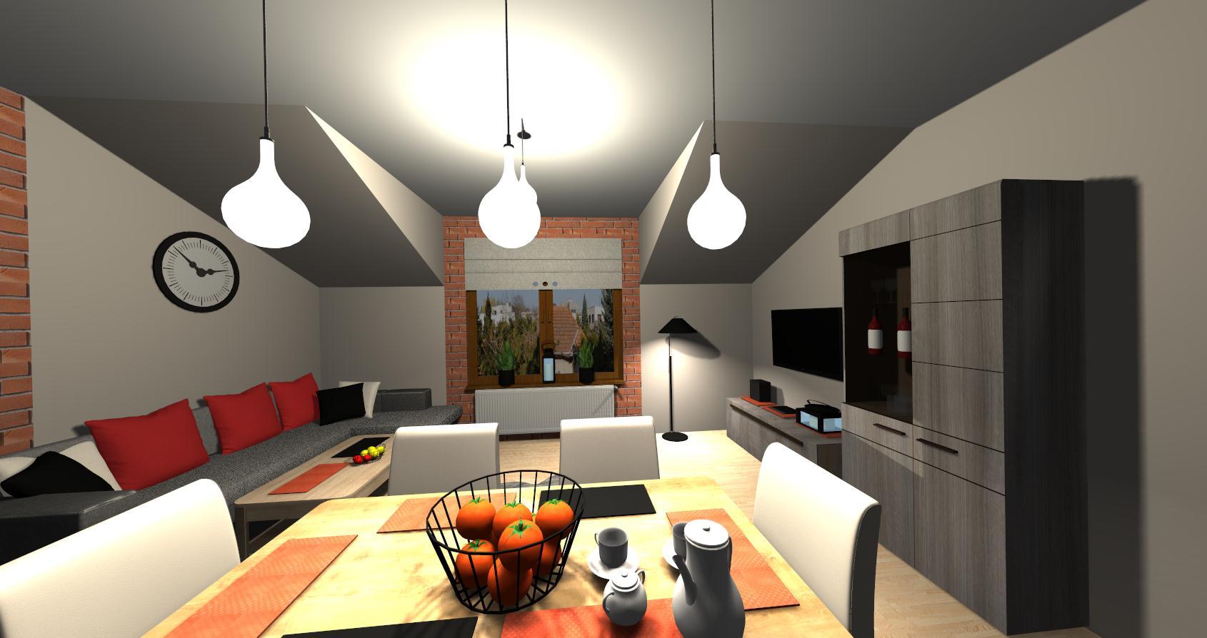 Salon Grocika 17 - Salon w stylu industrialnym
