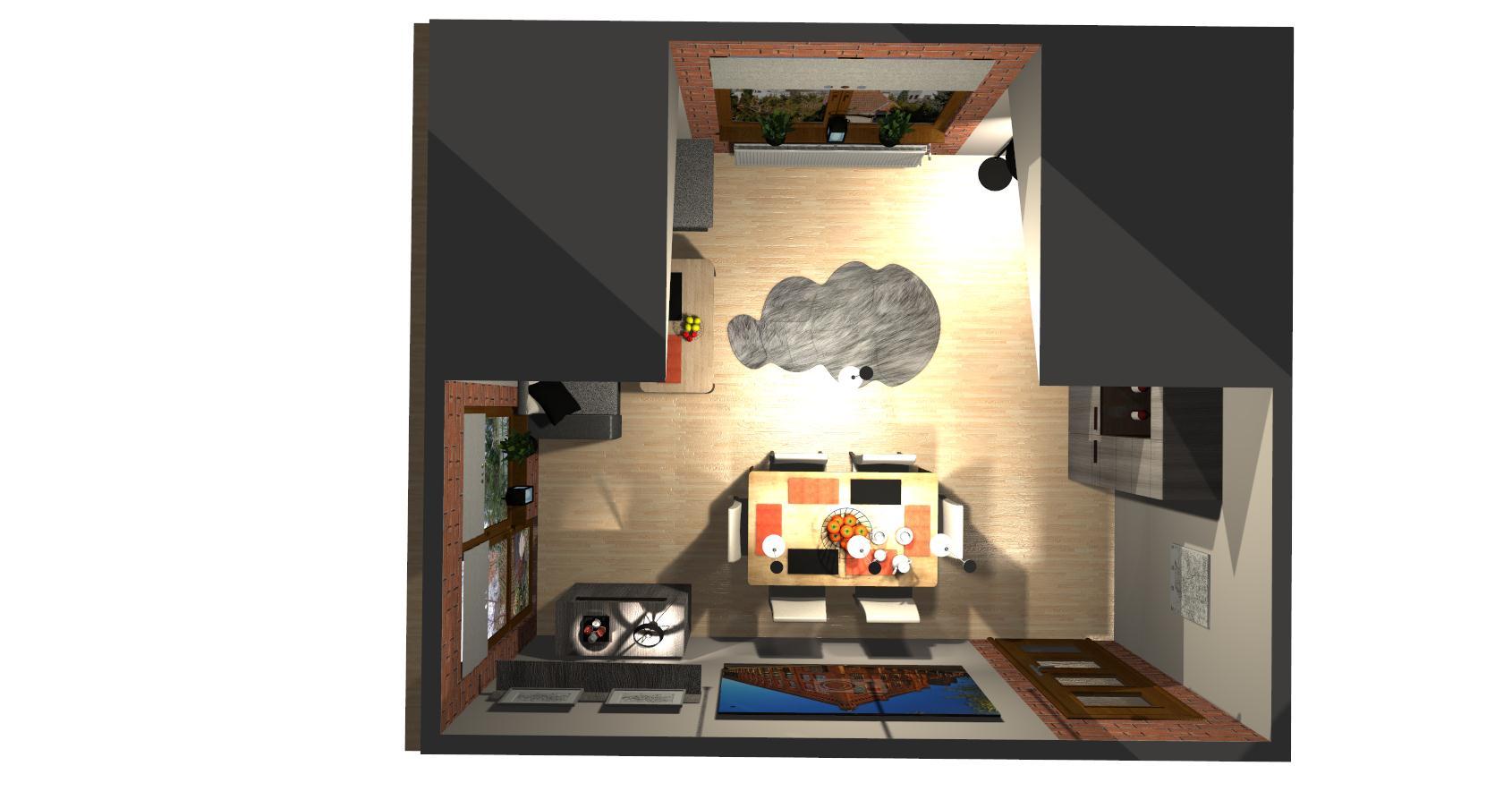 Salon Grocika 26 - Salon w stylu industrialnym