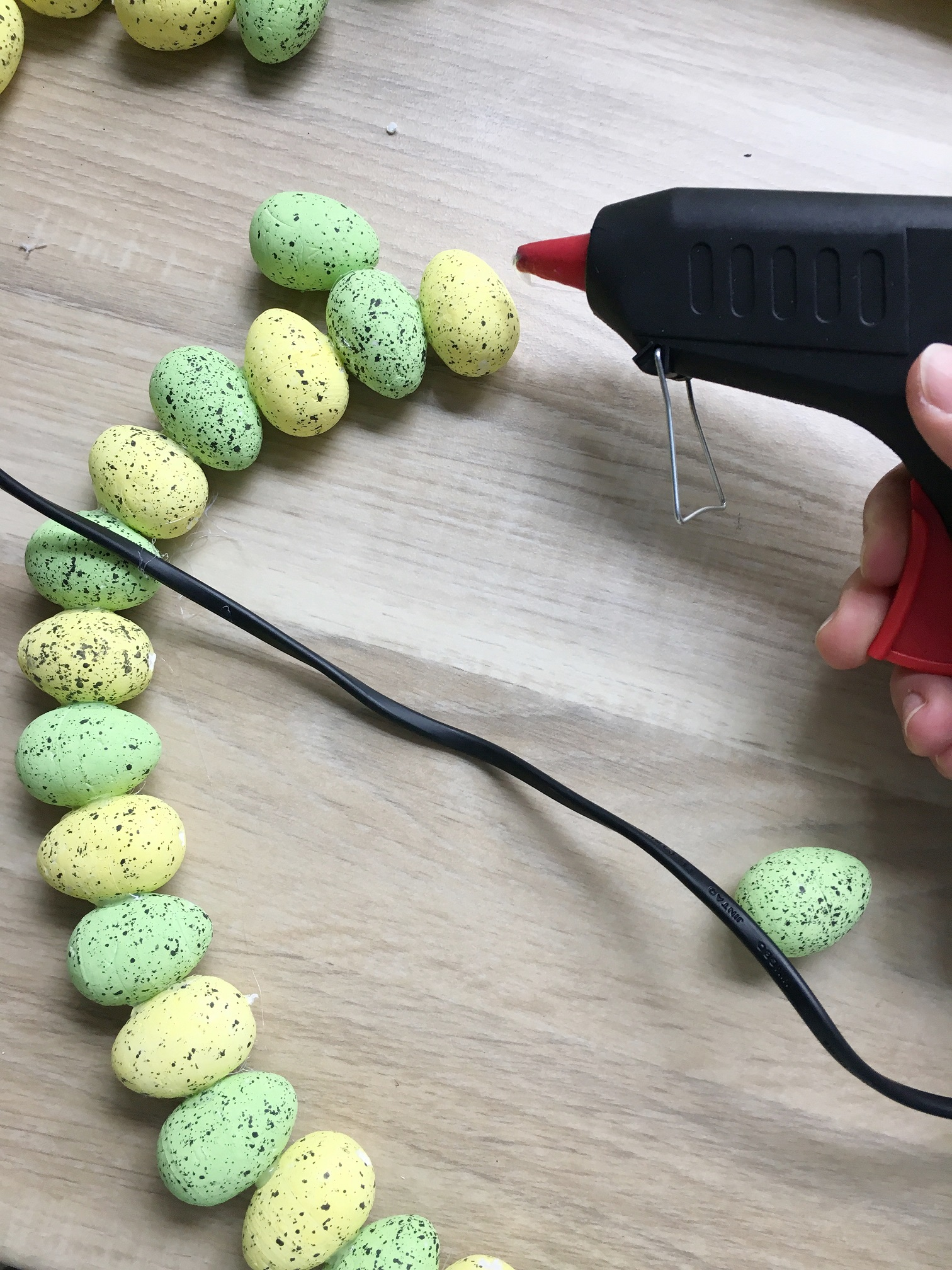 Wielkanocny wianek DIY